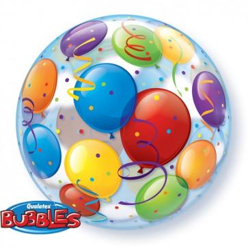 Colourful Balloons Bubble Balloon