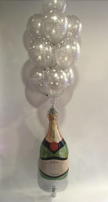 25th Anniversary Champagne Explosion
