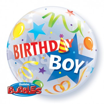 'Birthday Boy' Bubble Balloon