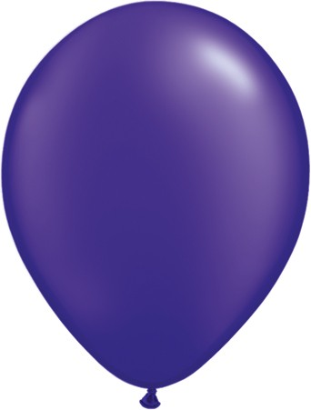 Purple Latex Balloons