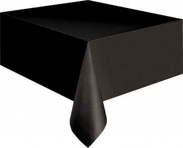 Black Plastic Tablecover