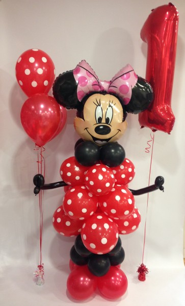 AGE 1 MINNIE MOUSE BALLOON PACKAGE