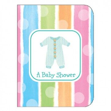 Baby Clothes Invitations