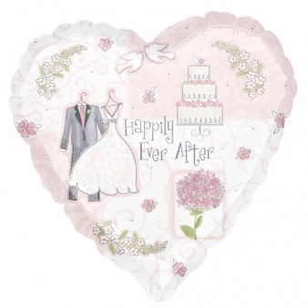 'Happily Ever After' Foil Balloon