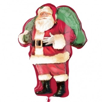 Magic of Santa Supershape Foil Balloon