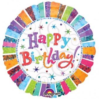 Radiant Birthday Foil
