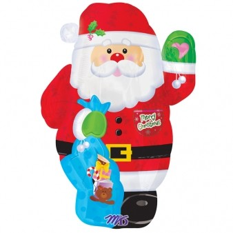 Santa Jr.Shape Foil Balloon