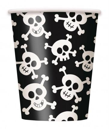 Pirate Skulls Paper Cups