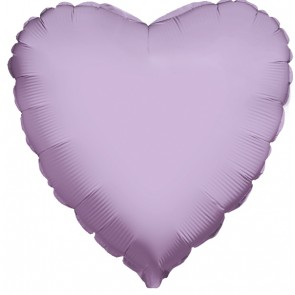 Lavender Heart Foil Balloon