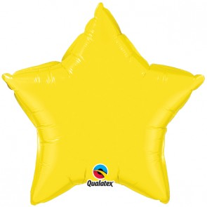 Yellow Star Foil Balloon