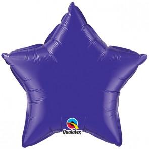 Purple Star Foil Balloon