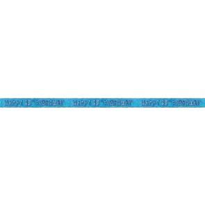 Age 13 Blue Glitz Banner
