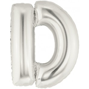 Letter D Super Shape Foil Balloon
