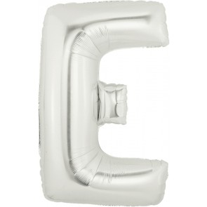 Letter E Super Shape Foil Balloon