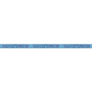 Age 18 Blue Glitz Banner