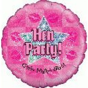 Hen Party Foil Balloon