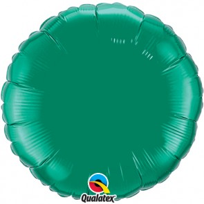 Emerald Green Round Foil Balloon