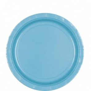 Teal Paper Plates