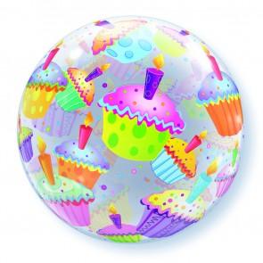 Cupcakes Bubble Balloon