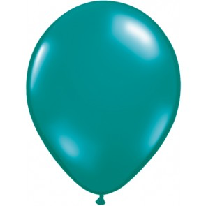 Teal Latex Balloons