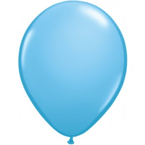 25 Baby Blue Latex Balloons