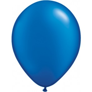 25 Blue Latex Balloons