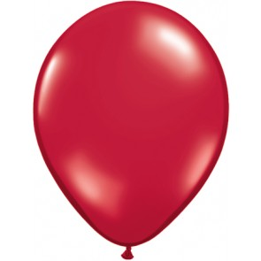 25 Red Latex Balloons