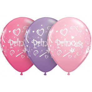 Princess Latex Balloons