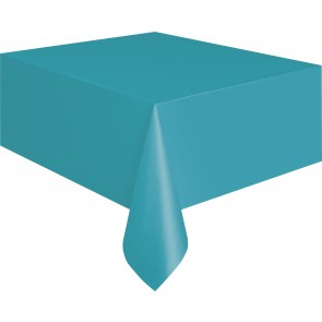Teal Plastic Tablecover