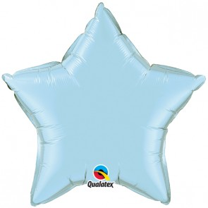 Baby Blue Star Foil Balloon