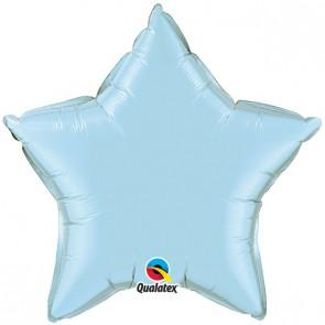 Baby Blue Star Foil Balloon