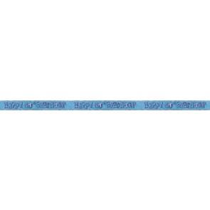 Age 60 Blue Glitz Banner