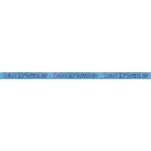 Age 70 Blue Glitz Banner
