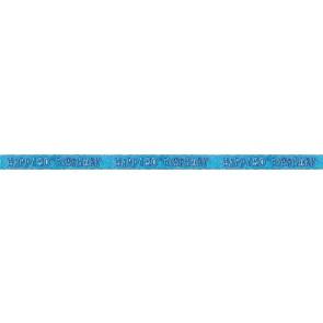 Age 80 Blue Glitz Banner