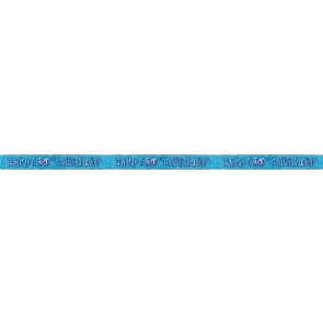 Age 90 Blue Glitz Banner