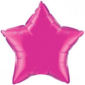 Hot Pink Star Foil Balloon