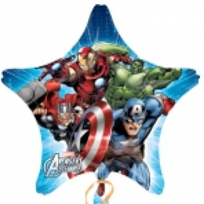 Avengers Assemble Star Supershape Foil Balloon