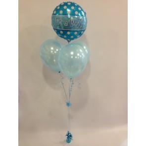 'It's a boy' Balloon Bundle