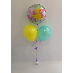Baby Shower Rubber Duckie Balloon Bunch
