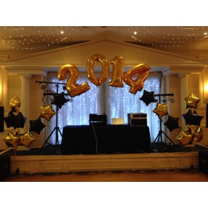 Black and Gold 2014 Stage Arch