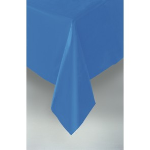 Blue Plastic Tablecover