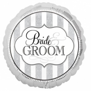 'Bride & Groom' Foil Balloon