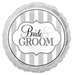 'Bride & Groom' Foil Balloon