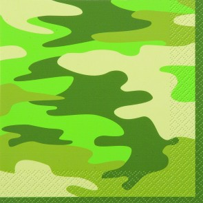 Camouflage Paper Luncheon Napkins