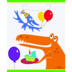 Dino Birthday Loot Bags