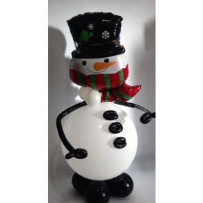 Frosty the Snowman Balloon Figure