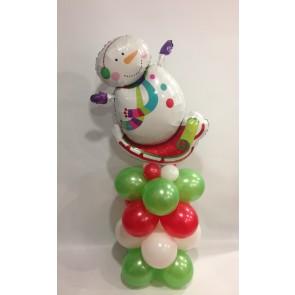 Funky Snowman Column