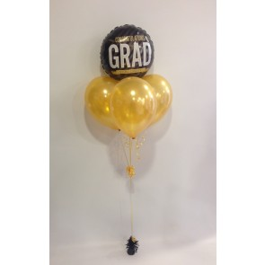 Congrats Grad Gold Balloon Bundle