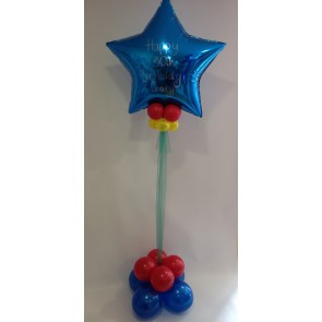 30th Birthday Blue Star Statement Piece