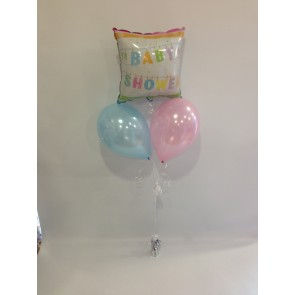 Clothes Line Baby Shower Balloon Bunch